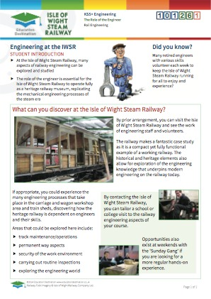 Click to view Resource 101261 Studying the role of the engineer