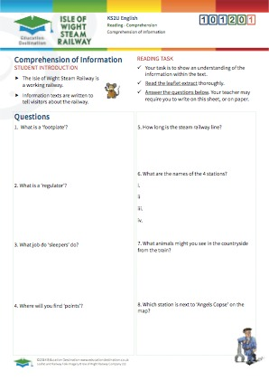 Click to view Resource 101201 Comprehension of Information - Interpreting Texts
