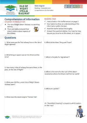 Click to view Resource 101202 Comprehension of Information - Interpreting Texts