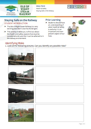 Click to view Resource 101243 Staying Safe on the Railway!