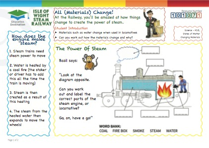 Click to view Resource 101071 The Power of Steam