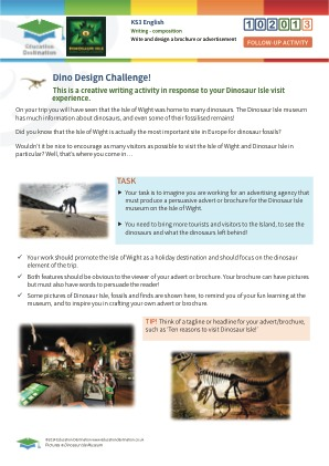 Click to view Resource 102013 Dino Design Challenge!