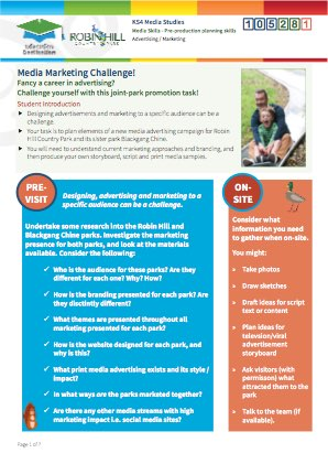Click to view Resource 105281 Media Marketing Challenge! Storyboarding and Planning an Ad Campaign