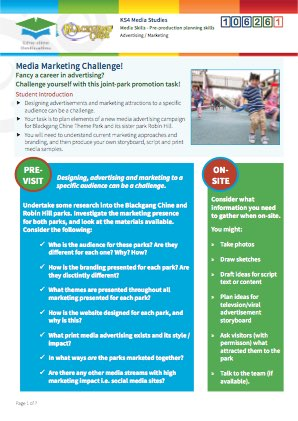 Click to view Resource 106261 Media Marketing Challenge! Storyboarding and Planning an Ad Campaign