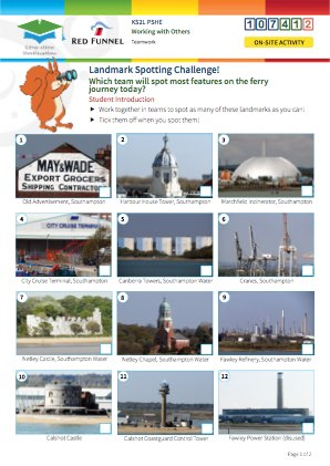 Click to view Resource 107412 Landmark Spotting Challenge!