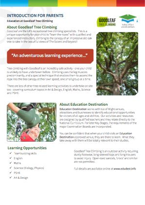 Parents overview for Goodleaf Tree Climbing
