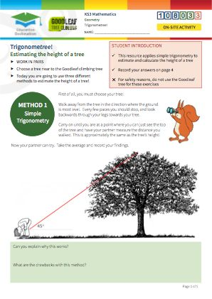 Click to view Resource 108033 TrigonomeTREE!
