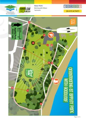 Click to view Resource 108001 Appley Park Orienteering Challenge!