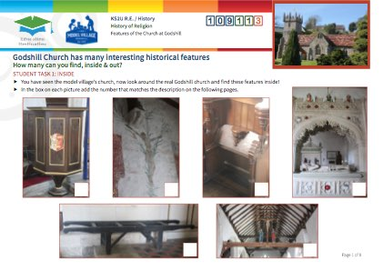 Click to view Resource 109113 Historical Features of Godshill Church