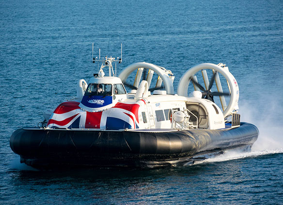Picture of Hovertravel Hovercraft service to the Isle of Wight for school trips