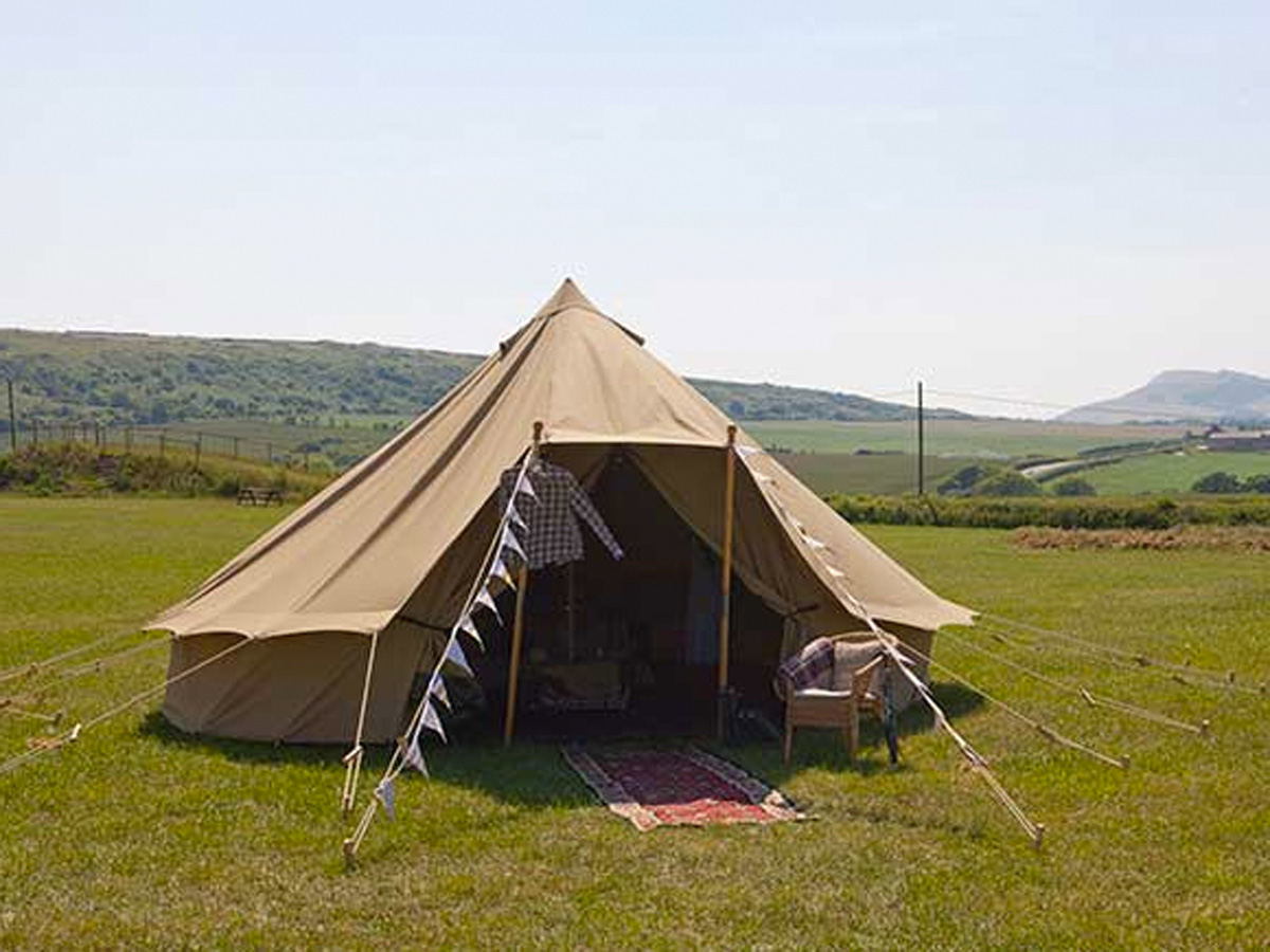 Picture of Tapnell Farm Park - Bell Tents