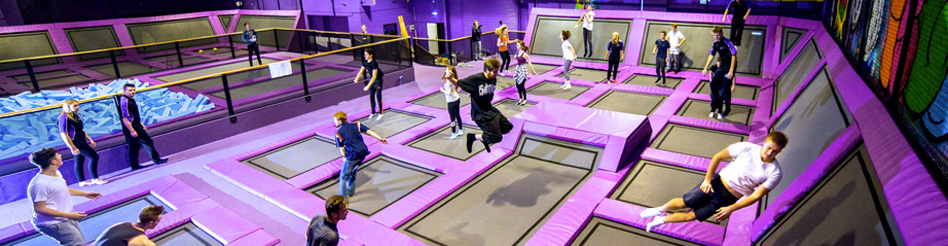 Isle of Wight fun group activity islejump Trampoline Park