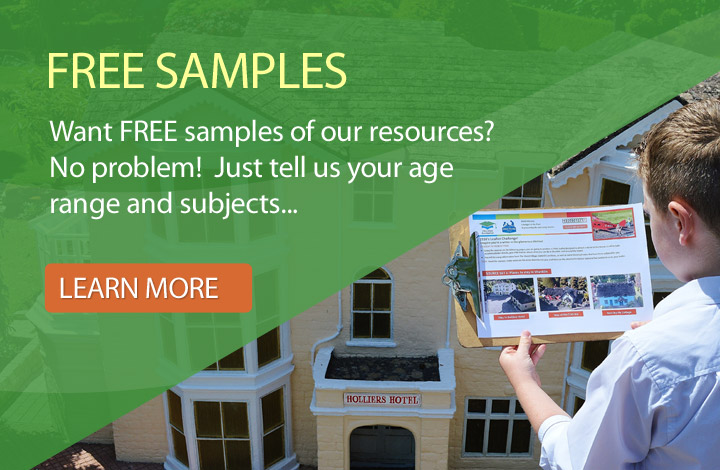 Request FREE resources samples from Education Destination