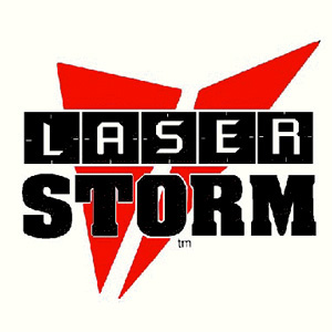 Laser Storm at JR Zone logo
