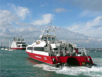 External picture of Red Funnel Ferries