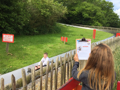 Education Destination teaching resource in use at Robin Hill Country Park